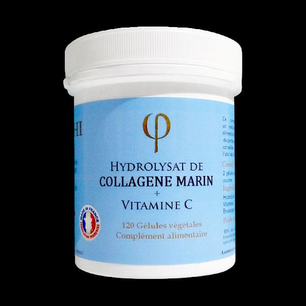 Hydrolysat de collagène marin vitamine C en gélules