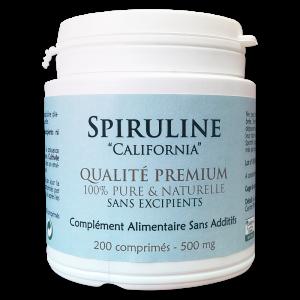 Spiruline pure et naturelle – Premium