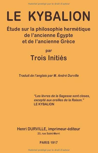 Henri Durville - Le kybalion